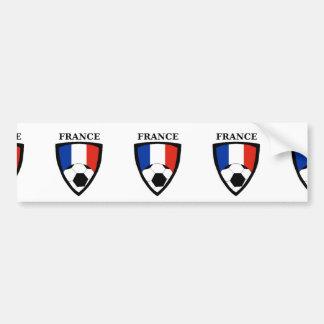 Le football de la France Autocollant De Voiture