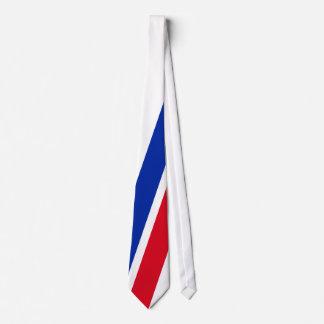 Le football de la France - de L'Equipe Tricolore Cravate Avec Motifs