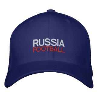 LE FOOTBALL DE LA RUSSIE CASQUETTE BRODÉE