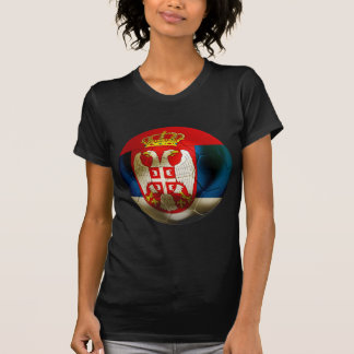 Le football de la Serbie T-shirt