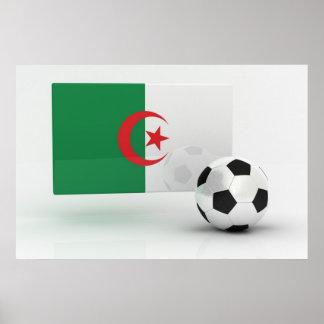 Le football de l'Algérie Posters