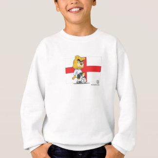 Le football de l'Angleterre badine le sweatshirt