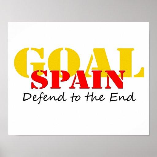 Le football de l'Espagne Affiches