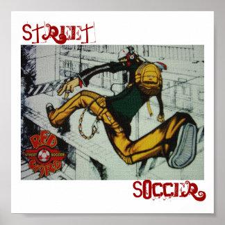 Le football de rue posters