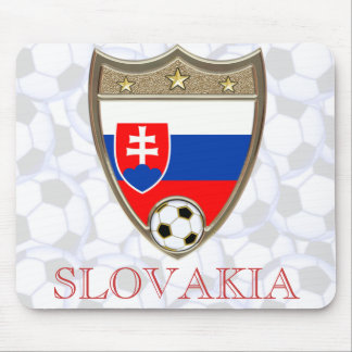 Le football de Slovakla Tapis De Souris