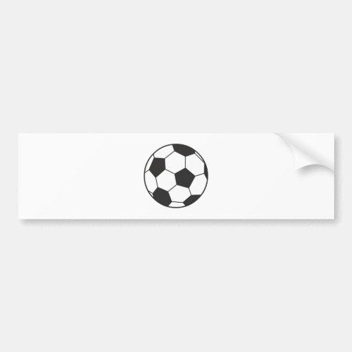 Le football de soccer balle adhésifs pour voiture