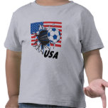 Le football des Etats-Unis d'équipe T-shirts