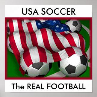 Le FOOTBALL des Etats-Unis, la VRAIE affiche du FO