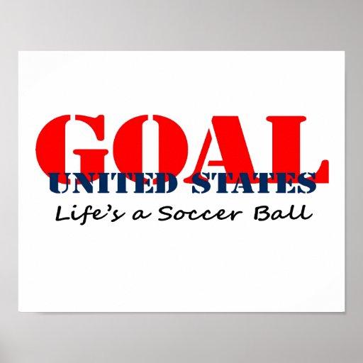 Le football des Etats-Unis Posters