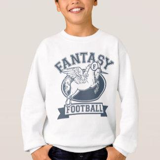Le football d'imaginaire sweatshirt