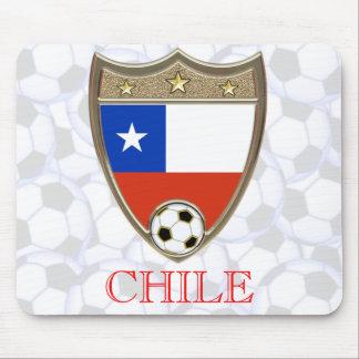 Le football du Chili Tapis De Souris