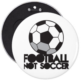 Le football du FOOTBALL pas ! chemise de boule Pin's