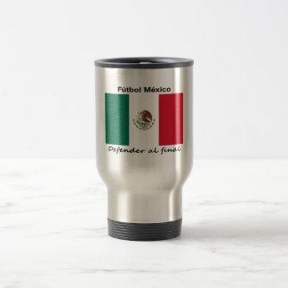 Le football du Mexique Mug De Voyage