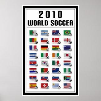 Le football du monde affiche