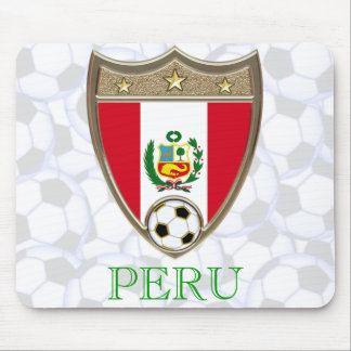 Le football du Pérou Tapis De Souris