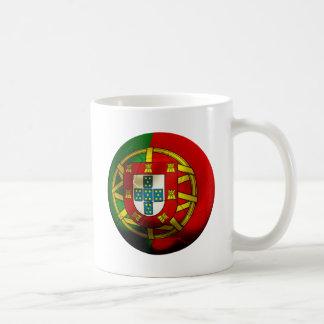 Le football du Portugal Mug