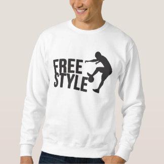 Le football du style libre | du football sweatshirt