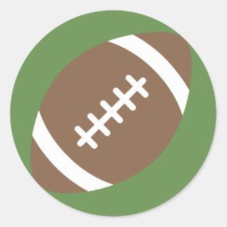 Le football Emoji Sticker Rond