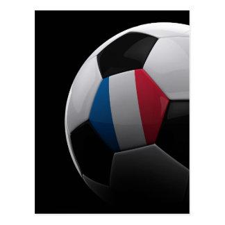 Le football en France - CARTE POSTALE