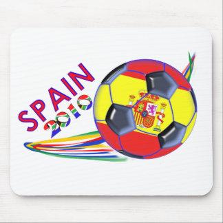 Le football espagnol tapis de souris