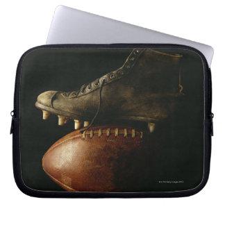 Le football et crampon trousse pour ordinateur portable