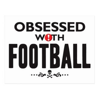 Le football hanté cartes postales