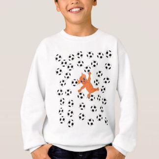 Le football heureux par Happy Juul Company Sweatshirt