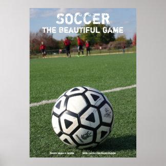 Le football - le beau jeu - affiche