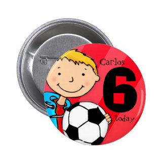 Le football/le nom et âge du football se badge