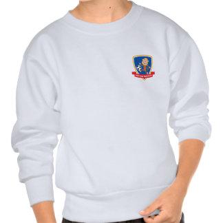 Le football Monkeys le sweatshirt de la jeunesse
