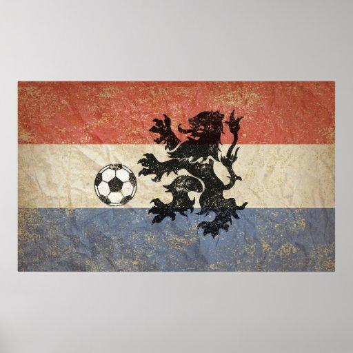 Le football néerlandais posters