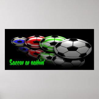 Le football ou rien copie poster