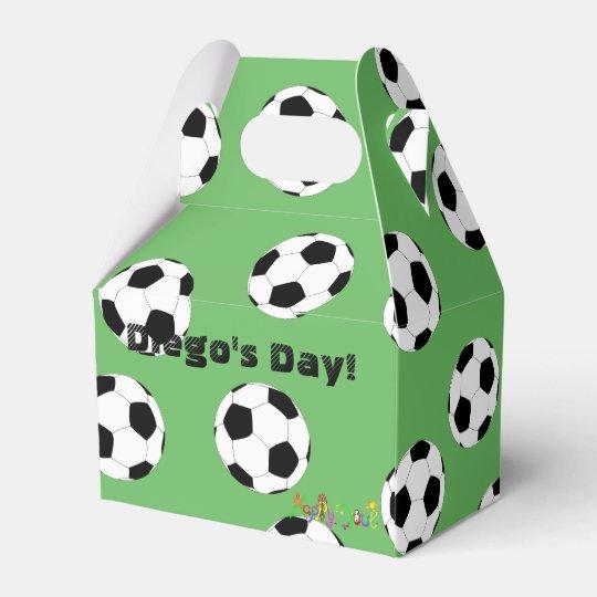 Le football par Happy Juul Company Boite Faveurs De Mariage