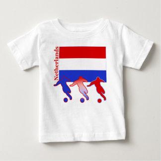 Le football Pays-Bas T-shirt Pour Bébé
