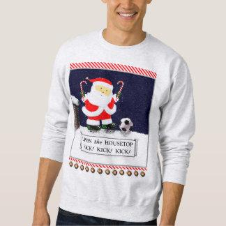 le football Père Noël Sweatshirt