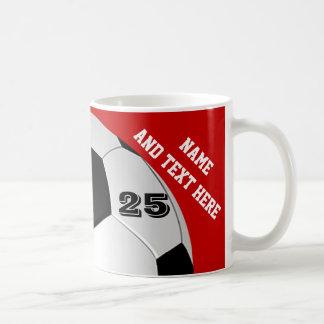 Le football personnalisé attaque le nom, nombre, mug