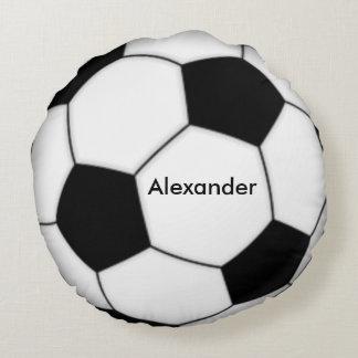 Le football personnalisé coussins ronds