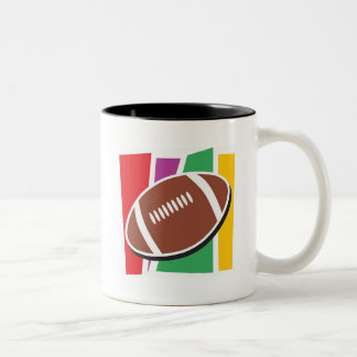 le football tasse 2 couleurs