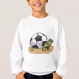 Le football (tortue) sweatshirt