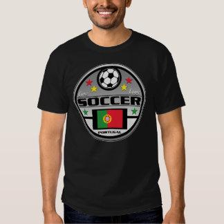 Le football vivant Portugal d'amour T-shirt