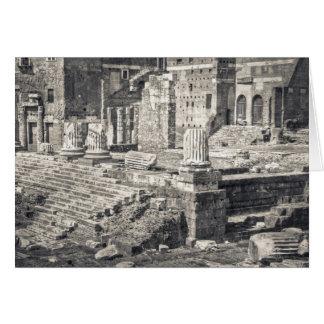 Le forum d'Augustus est l'un des 2 impériaux Carte De Vœux