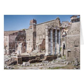 Le forum d'Augustus est l'un des 3 impériaux Carte De Vœux