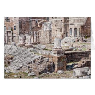 Le forum d'Augustus est un des impériale Carte De Vœux