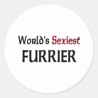 Le fourreur le plus sexy du monde autocollants