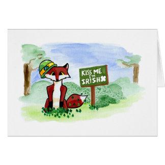 Le Fox de St Patrick Cartes