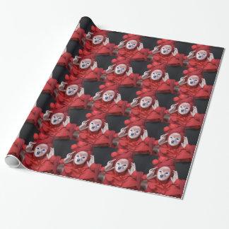 Le Fox est Madame In Red Papiers Cadeaux Noël