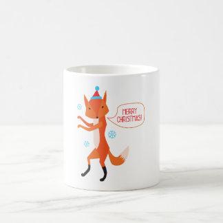 Le Fox indique le Joyeux Noël ! Mug