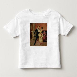 Le foyer du théâtre de salle de conférence (huile t-shirt pour les tous petits