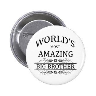 Le frère le plus extraordinaire du monde badge