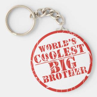 Le frère le plus frais du monde porte-clé rond
